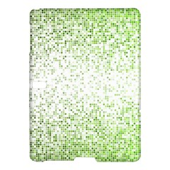 Green Square Background Color Mosaic Samsung Galaxy Tab S (10 5 ) Hardshell Case