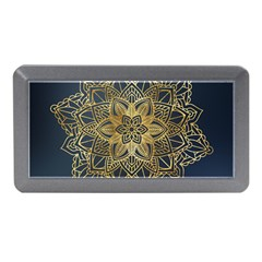 Gold Mandala Floral Ornament Ethnic Memory Card Reader (mini)