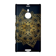 Gold Mandala Floral Ornament Ethnic Nokia Lumia 1520