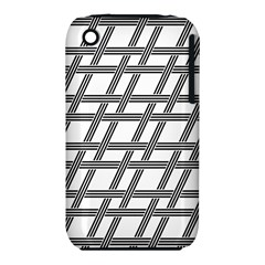 Grid Pattern Seamless Monochrome Iphone 3s/3gs