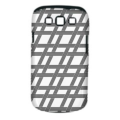 Grid Pattern Seamless Monochrome Samsung Galaxy S Iii Classic Hardshell Case (pc+silicone)