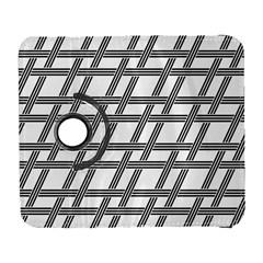Grid Pattern Seamless Monochrome Galaxy S3 (flip/folio)