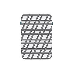 Grid Pattern Seamless Monochrome Apple Ipad Mini Protective Soft Cases