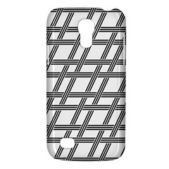 Grid Pattern Seamless Monochrome Galaxy S4 Mini