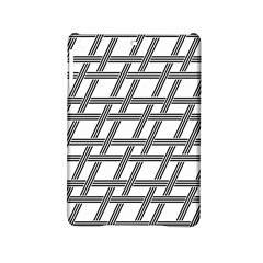 Grid Pattern Seamless Monochrome Ipad Mini 2 Hardshell Cases