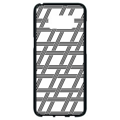 Grid Pattern Seamless Monochrome Samsung Galaxy S8 Black Seamless Case