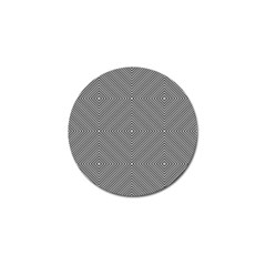Diagonal Stripe Pattern Seamless Golf Ball Marker