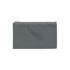 Diagonal Stripe Pattern Seamless Cosmetic Bag (small)
