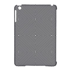 Diagonal Stripe Pattern Seamless Apple Ipad Mini Hardshell Case (compatible With Smart Cover)