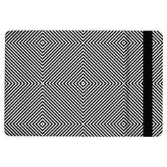 Diagonal Stripe Pattern Seamless Ipad Air Flip