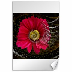 Fantasy Flower Fractal Blossom Canvas 20  X 30