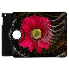Fantasy Flower Fractal Blossom Apple Ipad Mini Flip 360 Case