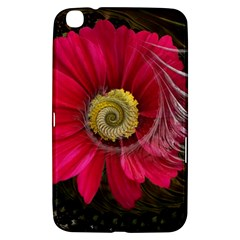 Fantasy Flower Fractal Blossom Samsung Galaxy Tab 3 (8 ) T3100 Hardshell Case