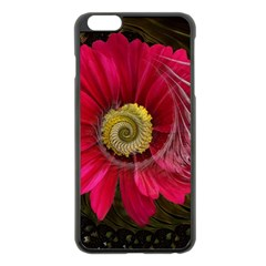 Fantasy Flower Fractal Blossom Apple Iphone 6 Plus/6s Plus Black Enamel Case