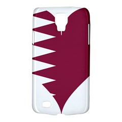 Heart Love Flag Qatar Galaxy S4 Active