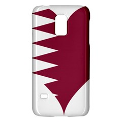 Heart Love Flag Qatar Galaxy S5 Mini