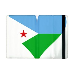 Heart Love Flag Djibouti Star Apple Ipad Mini Flip Case