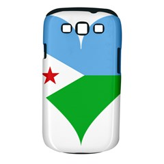 Heart Love Flag Djibouti Star Samsung Galaxy S Iii Classic Hardshell Case (pc+silicone)
