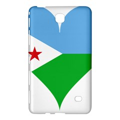 Heart Love Flag Djibouti Star Samsung Galaxy Tab 4 (7 ) Hardshell Case
