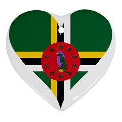 Heart Love Flag Antilles Island Ornament (heart)