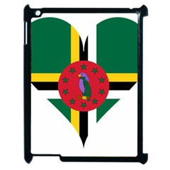 Heart Love Flag Antilles Island Apple Ipad 2 Case (black)