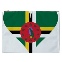 Heart Love Flag Antilles Island Cosmetic Bag (xxl)