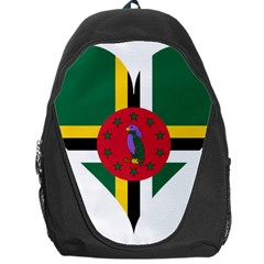 Heart Love Flag Antilles Island Backpack Bag