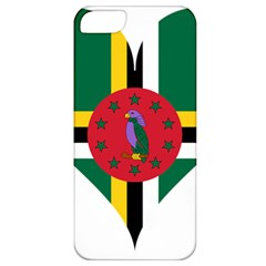 Heart Love Flag Antilles Island Apple Iphone 5 Classic Hardshell Case