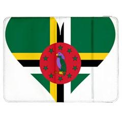 Heart Love Flag Antilles Island Samsung Galaxy Tab 7  P1000 Flip Case