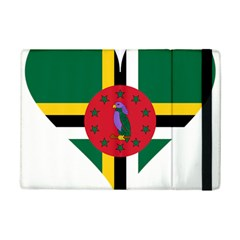 Heart Love Flag Antilles Island Ipad Mini 2 Flip Cases