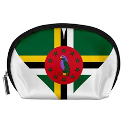 Heart Love Flag Antilles Island Accessory Pouches (large)