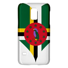 Heart Love Flag Antilles Island Galaxy S5 Mini