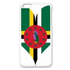 Heart Love Flag Antilles Island Apple Iphone 6 Plus/6s Plus Enamel White Case