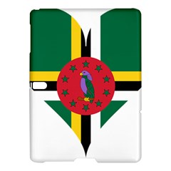 Heart Love Flag Antilles Island Samsung Galaxy Tab S (10 5 ) Hardshell Case