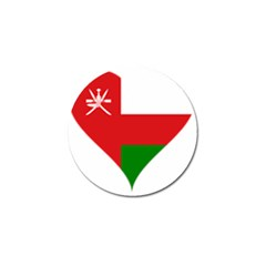 Heart Love Affection Oman Golf Ball Marker
