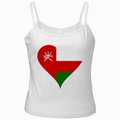 Heart Love Affection Oman Ladies Camisoles