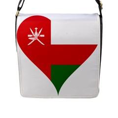 Heart Love Affection Oman Flap Messenger Bag (l)