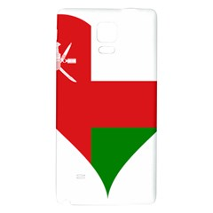 Heart Love Affection Oman Galaxy Note 4 Back Case