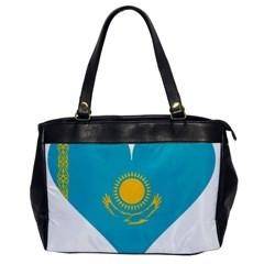 Heart Love Flag Sun Sky Blue Office Handbags