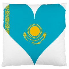 Heart Love Flag Sun Sky Blue Large Cushion Case (two Sides)