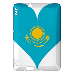 Heart Love Flag Sun Sky Blue Kindle Fire Hdx Hardshell Case