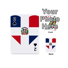 Heart Love Dominican Republic Playing Cards 54 (mini)