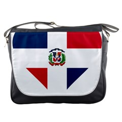 Heart Love Dominican Republic Messenger Bags