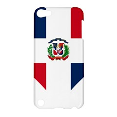 Heart Love Dominican Republic Apple Ipod Touch 5 Hardshell Case