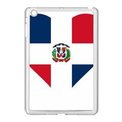 Heart Love Dominican Republic Apple Ipad Mini Case (white)
