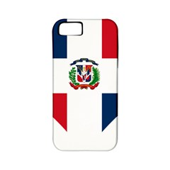 Heart Love Dominican Republic Apple Iphone 5 Classic Hardshell Case (pc+silicone)