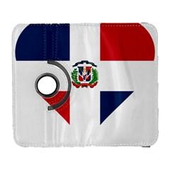 Heart Love Dominican Republic Galaxy S3 (flip/folio)
