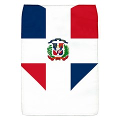 Heart Love Dominican Republic Flap Covers (s)