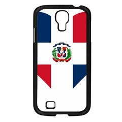 Heart Love Dominican Republic Samsung Galaxy S4 I9500/ I9505 Case (black)