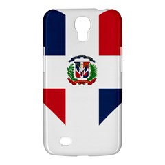Heart Love Dominican Republic Samsung Galaxy Mega 6 3  I9200 Hardshell Case
